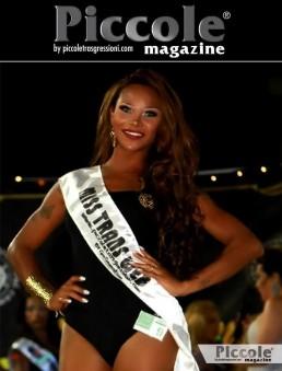 Nicolly Mascarenhas vince la fascia web al Miss Trans Abruzzo 2018