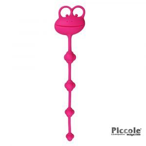 """Palline Anali 10"""" Silicone Frog Anal Beads - Lovetoy"""
