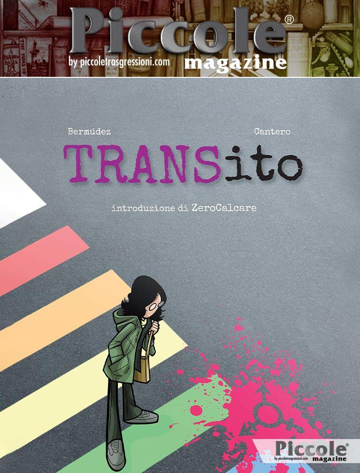 Foto copertina del libro TRANSito di Ian Bermúdez e David Cantero