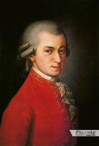 Wolfgang Amadeus Mozart - uomo acquario
