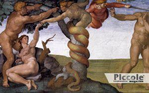 LA PUBBLICA IPOSCRISIA: Adamo ed Eva nel Paradiso Terrestre