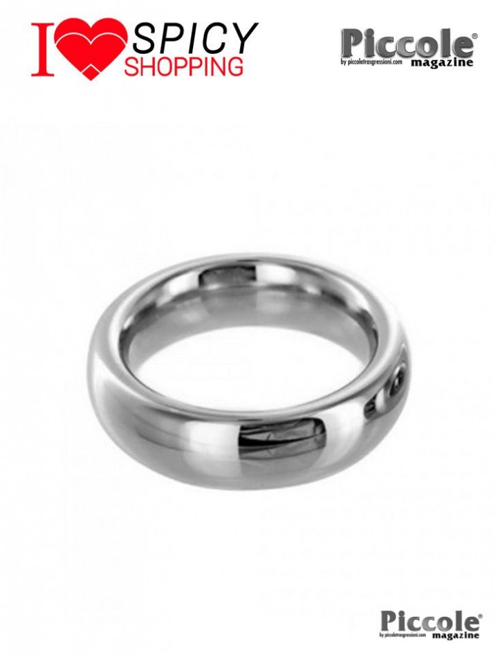 STAINLESS STEEL RING 2 INCHES - PLAY HARD