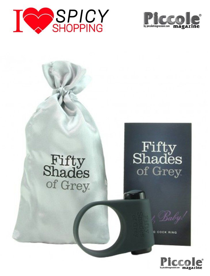 ANELLO FALLICO VIBRANTE - FEEL IT BABY - FIFTY SHADES OF GREY