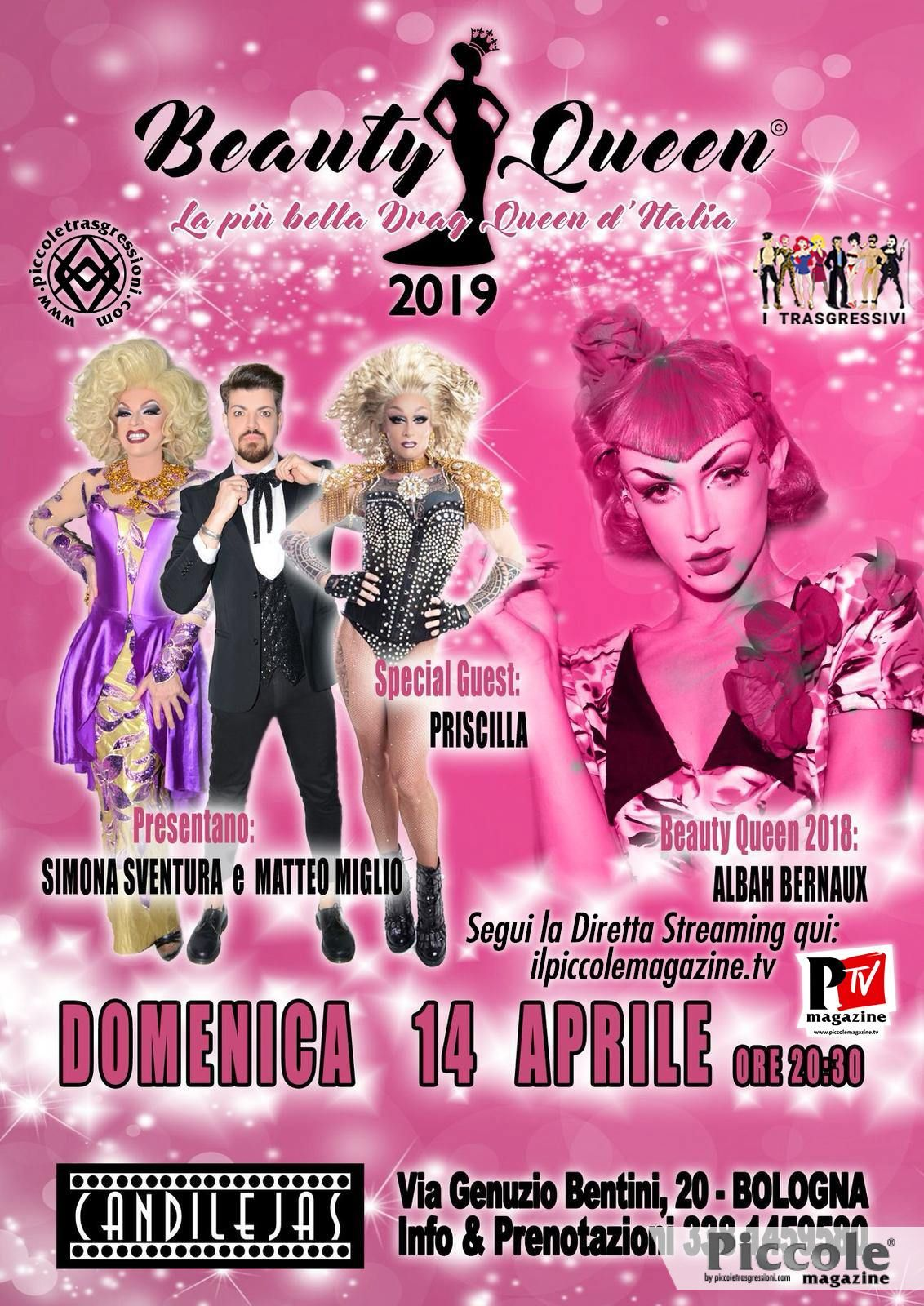 Simona Sventura presenta la finale di Beauty Queen 2019!