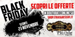 Black Friday al sexy shop Boutique I Trasgressivi