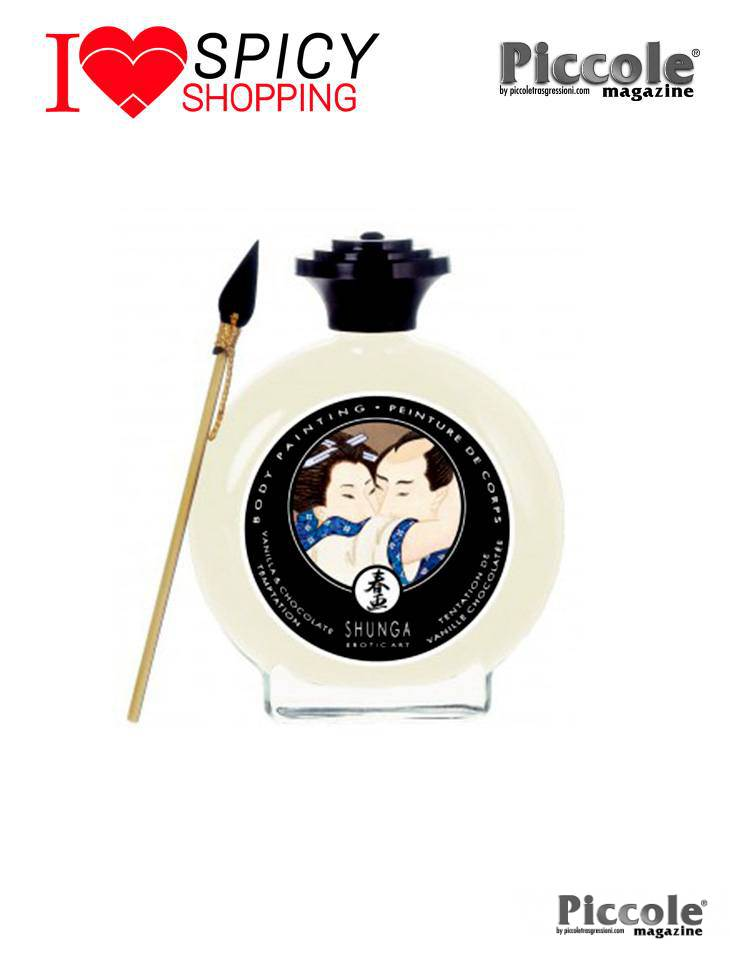 Body Painting Commestibile Vaniglia E Cioccolato 100 ml - Shunga