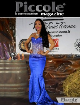 Brenda Magnom seconda classificata al Miss Trans Toscana 2018
