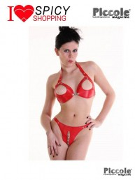 Spicy shopping: Completo Intimo Fetish Rosso