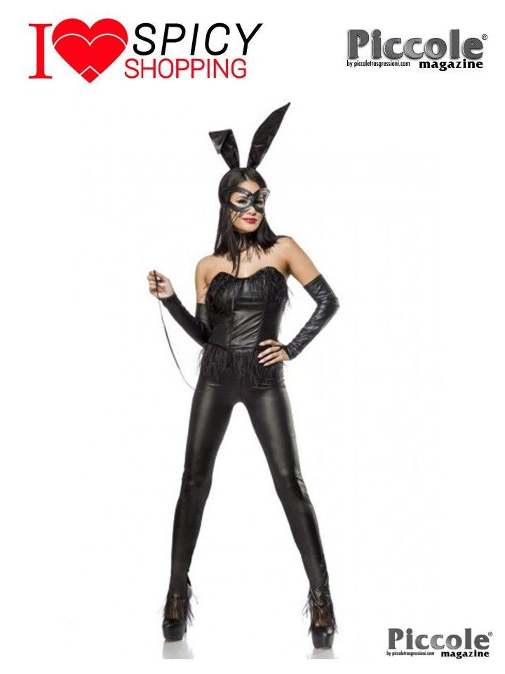 Costume da Coniglietta nero - Bunny Costume