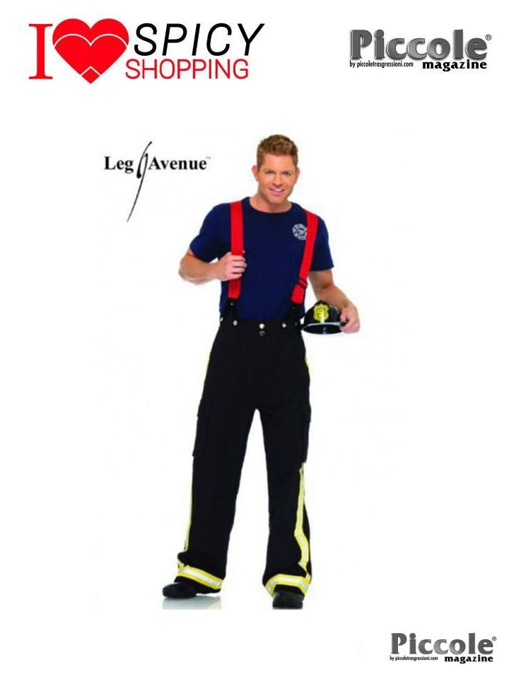 Costume da Pompiere - Fire Captain – Leg Avenue