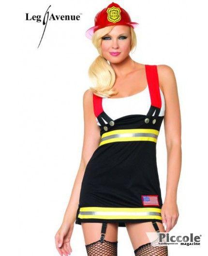 costume sexy pompiera