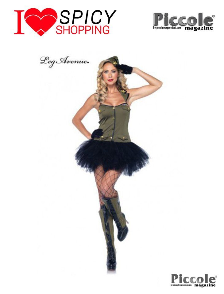 Costume da Soldatessa by Leg Avenue