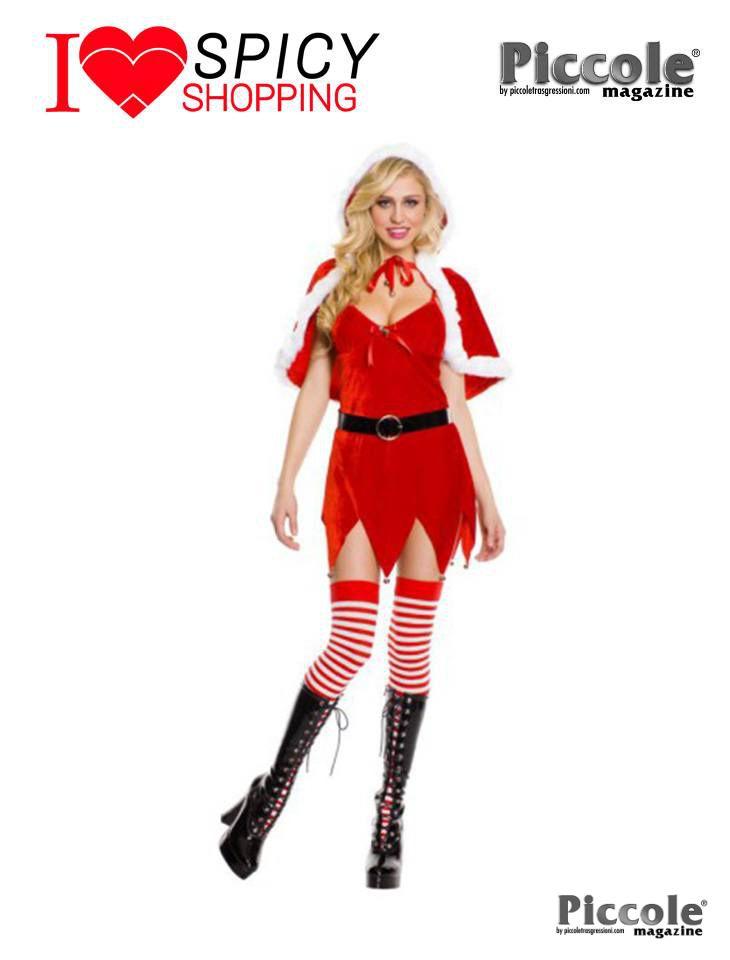 Costume Di Natale Cappuccio o Costume Di Natale Con Cappuccio by Music Legs