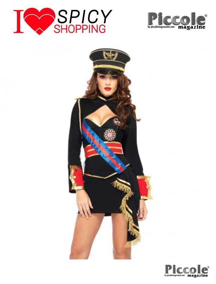 Costume Carnevale Diva Dittatore Dictator Dress - Leg Avenue