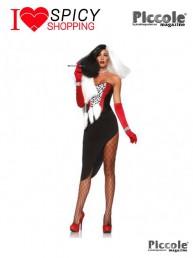 Costume Halloween Da Diva Crudelia