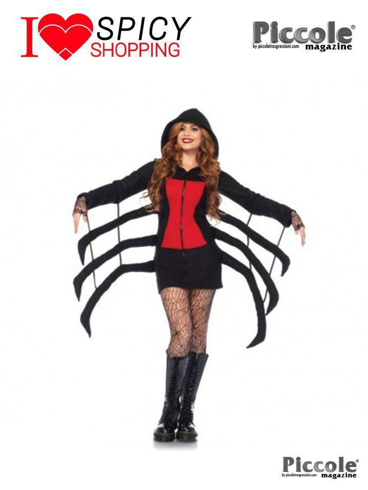 costume halloween da ragno