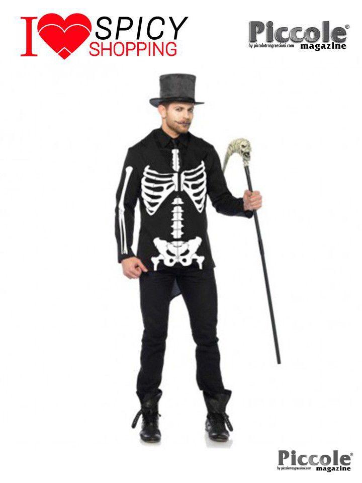 Costume Halloween Da Scheletro