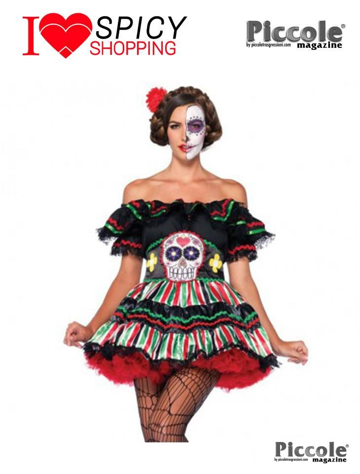 COSTUME HALLOWEEN DAY OF THE DEAD DOLL – LEG AVENUE