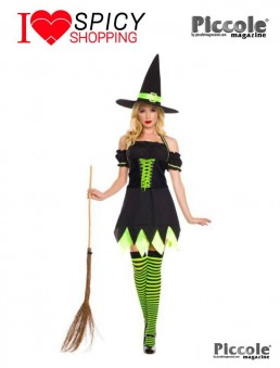 COSTUME HALLOWEEN HOLLY DARK WITCH – MUSIC LEGS