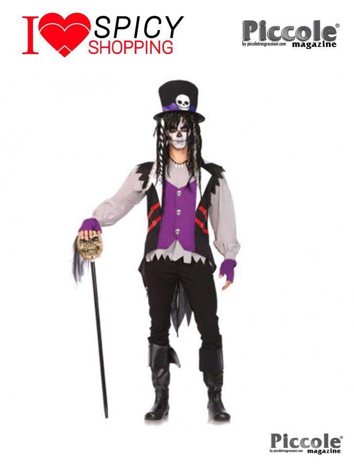 Costume Halloween Prete Voodoo
