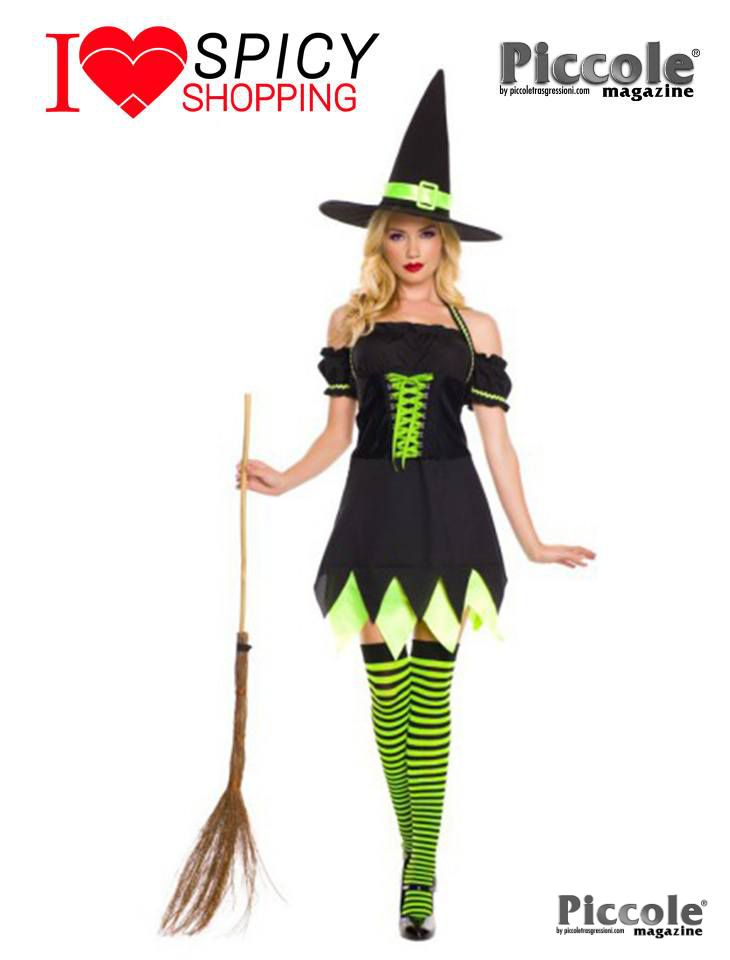 Costume Halloween Holly Dark Witch