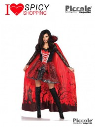 Costume Halloween Mantello da Vampira