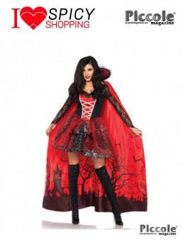 Costume Halloween Mantello da Vampira