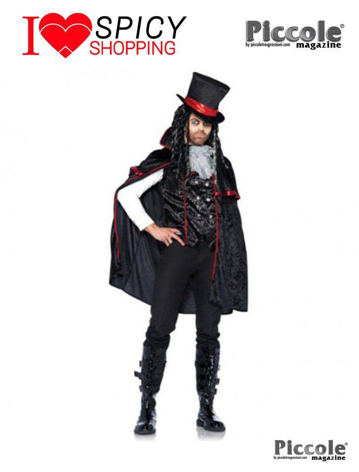 Costume Halloween Vampiro Da Uomo