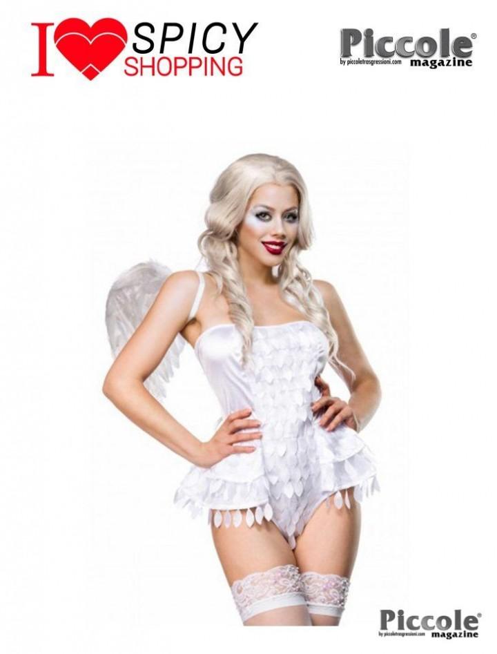 COSTUME ANGEL WHITE