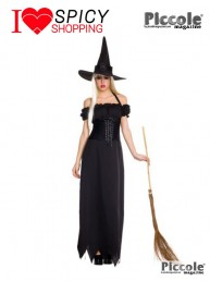 Costume da strega Mistress of Darkness