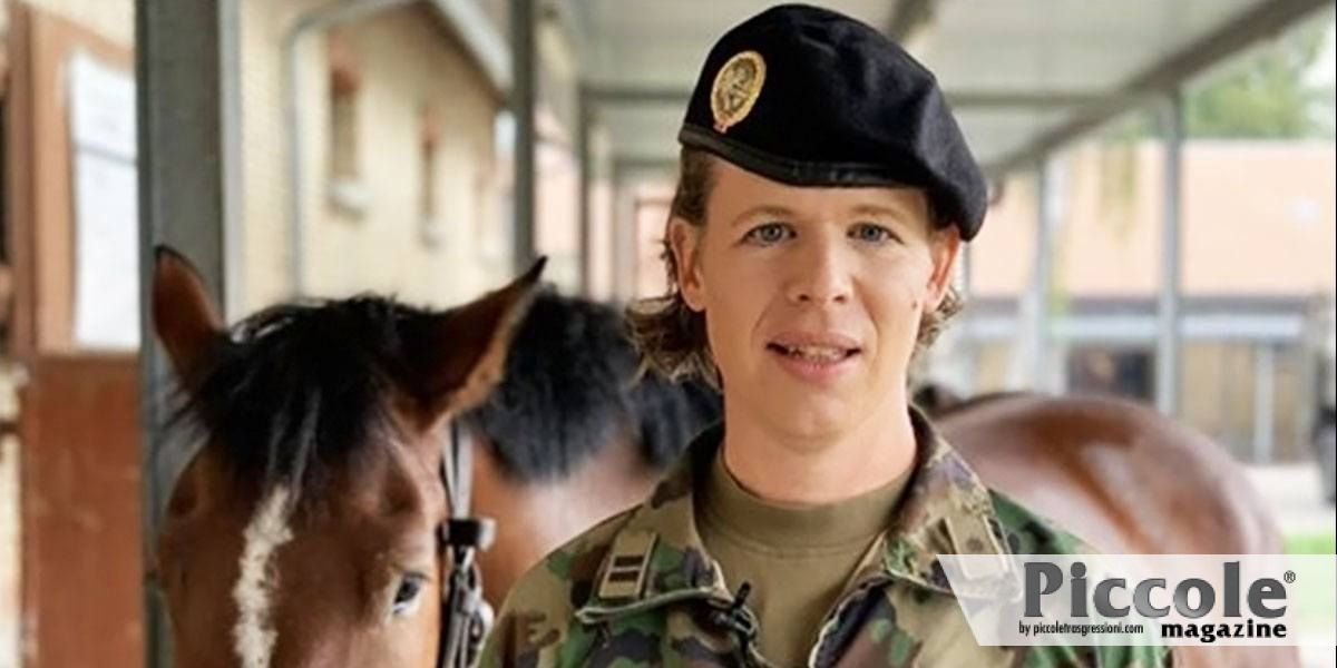 Christine Hug è la prima Tenente Colonnello trans nell'esercito svizzero