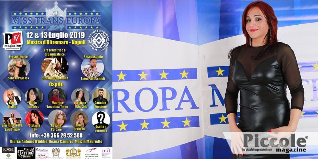 Stefania Zambrano vi aspetta a Miss Trans Europa 2019