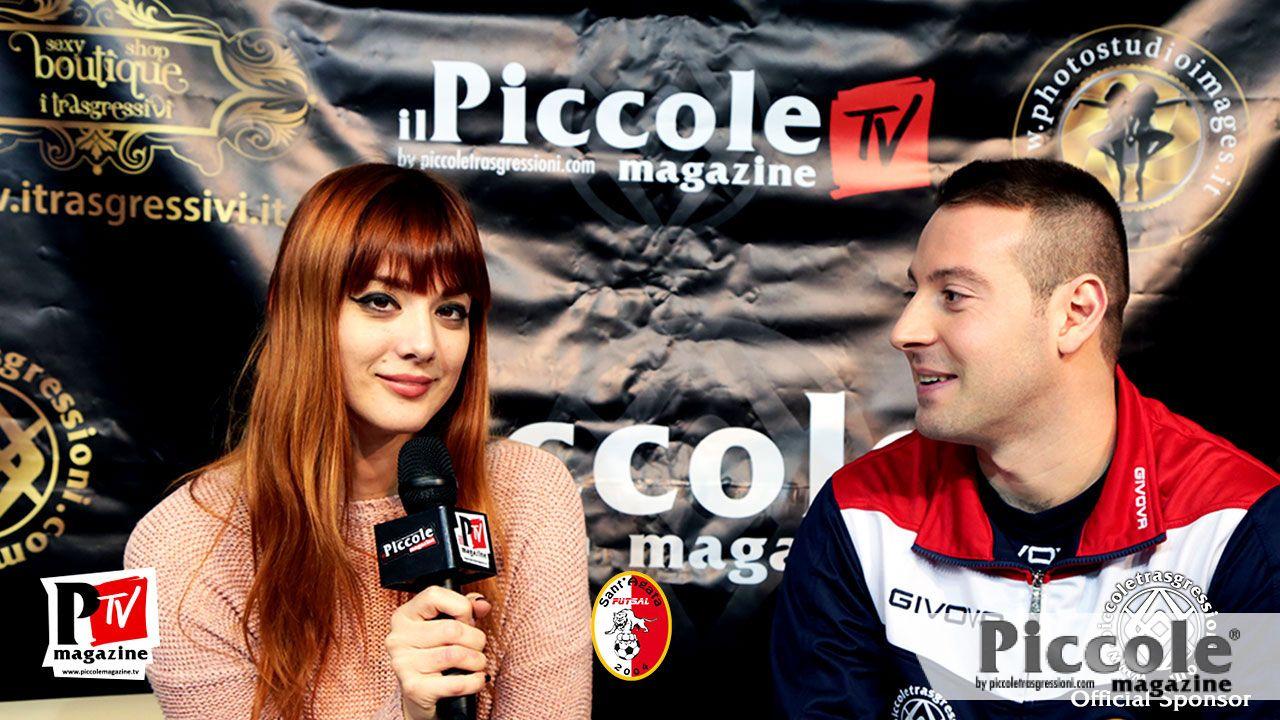 Intervista ai giocatori del Sant'Agata Futsal 2004: bomber Antonio