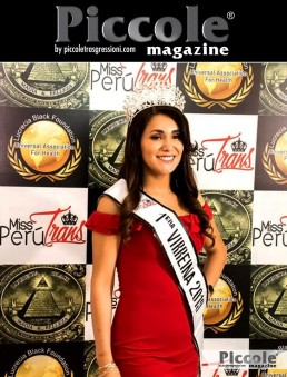 Intervista a Jana Pacheco, Miss Perú Trans International 2019