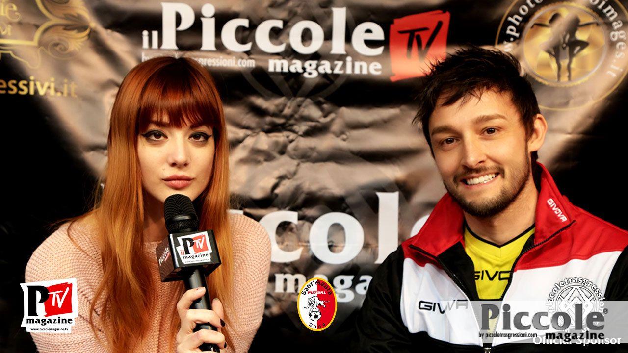 Intervista ai giocatori del Sant'Agata Futsal 2004: mister Lorenzo