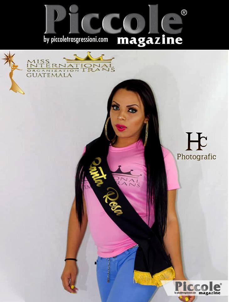 Intervista con Nicole Camey, concorrente a Miss Trans International Guatemala