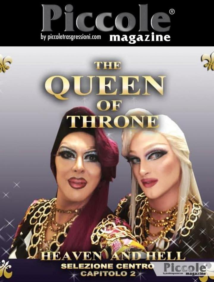 Krystal Heaven e Kassandra Hell presentano The Queen of Throne - selezioni centro