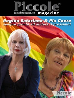 Regina Satariano & Pia Covre sempre pronte ad aiutare il prossimo!