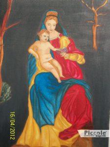 Olio su tela realizzato da Debora de Lux di Pescara