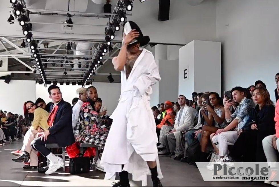 Pierre Davis è la prima designer transgender a sfilare alla New York Fashion Week