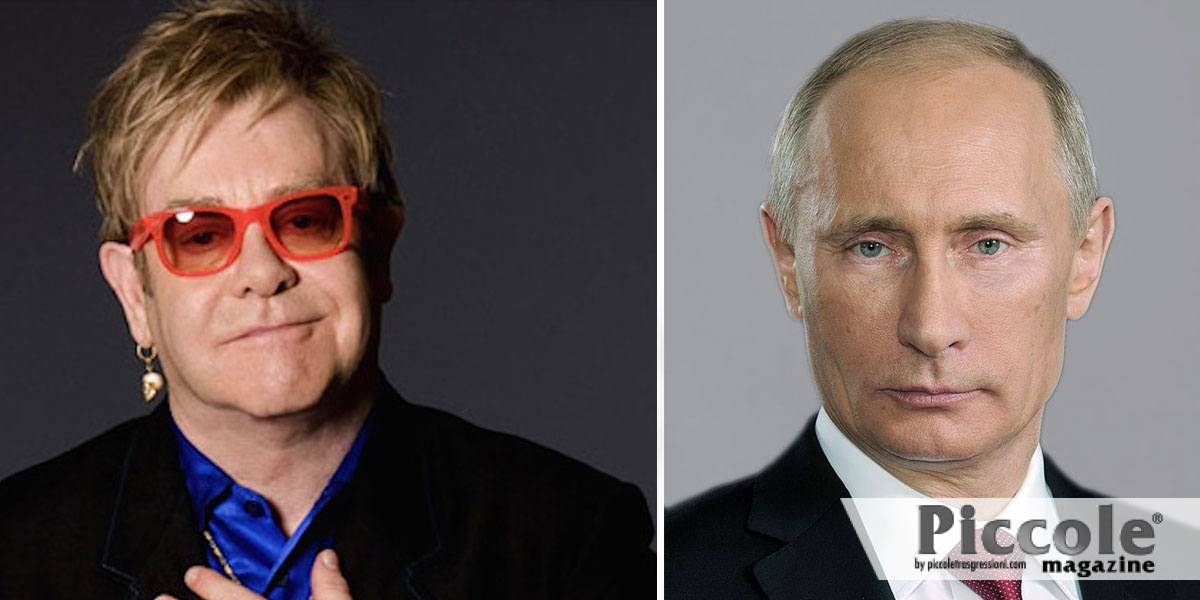 Elton John contro Putin e la Russia omofoba