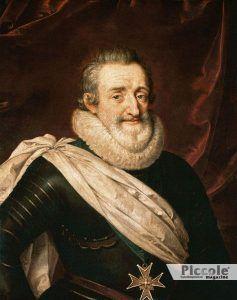 I figli riconosciuti: Enrico IV di Francia