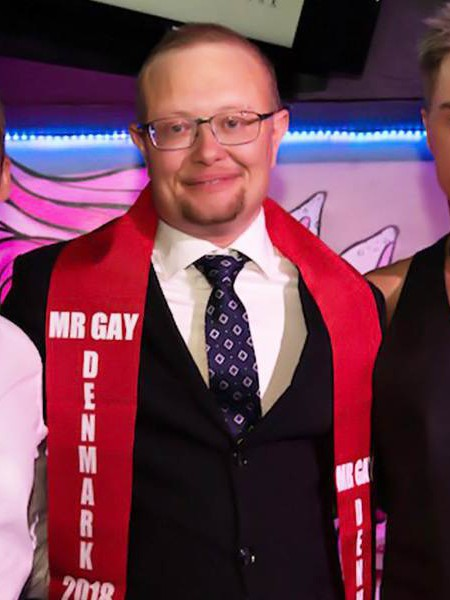 Niels Jansen FtoM Mr Gay 2018