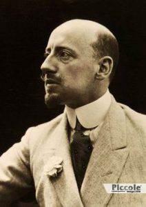 Gabriele D'Annunzio, cantante, segno zodiacale Pesci