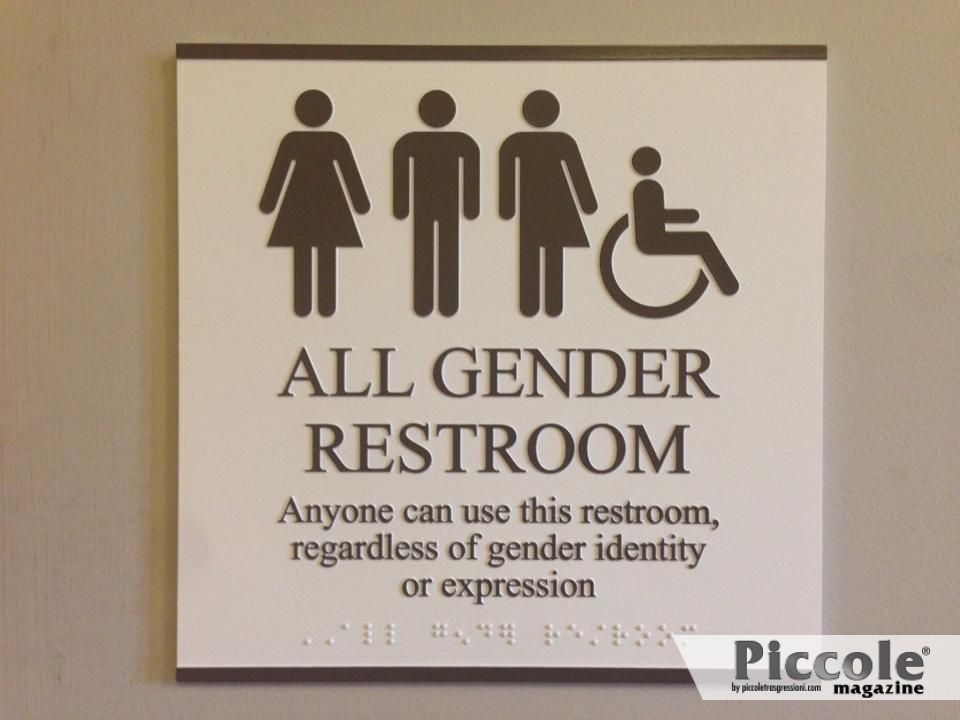 USA: Transgender libere di scegliere il bagno