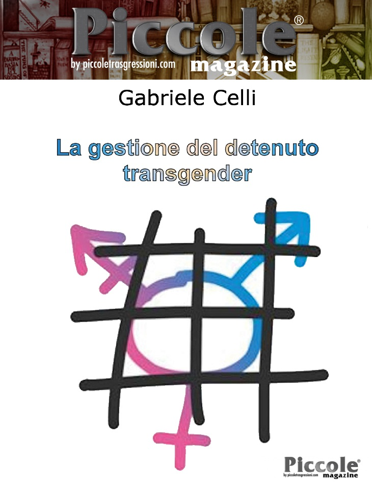 La gestione dei detenuti transgender di Gabriele Celli
