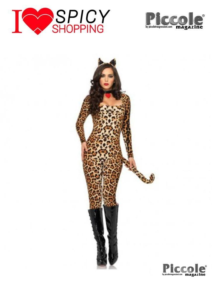 Costume Carnevale Ghepardo Sexy - Leg Avenue