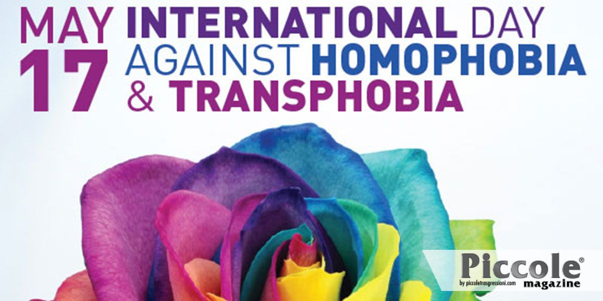 Giornata Internazionale contro omofobia, bifobia, transfobia