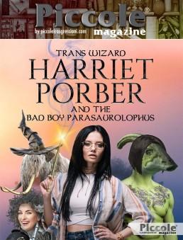 Harriet Porber e il cattivo ragazzo di Parasaurolophus di Chuck Tingle