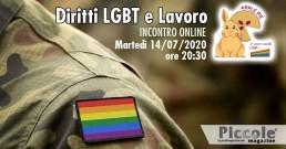Diritti LGBT+ e lavoro: stasera l'incontro online alle 20:30